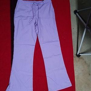 Cherokee Scrub pants, color is lavender